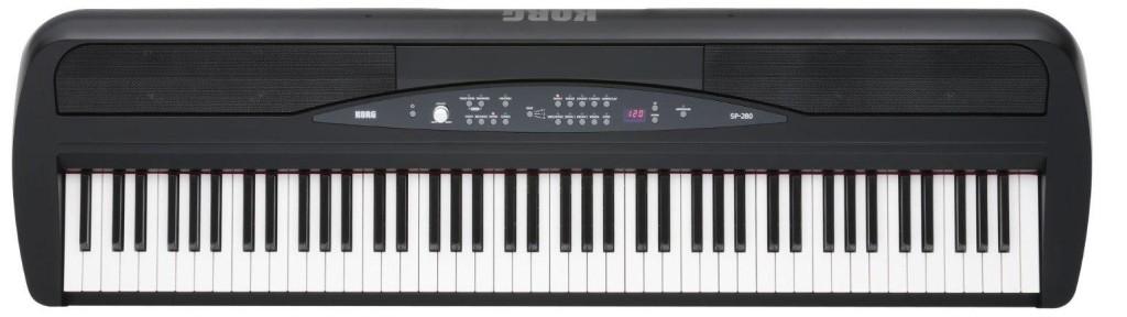 Korg SP280BK 88-Key Digital Piano Review