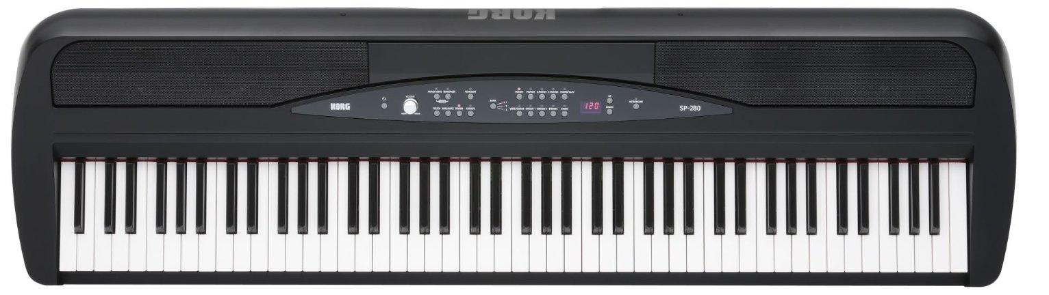 Korg sp280bk digital piano review for Korg or yamaha digital piano