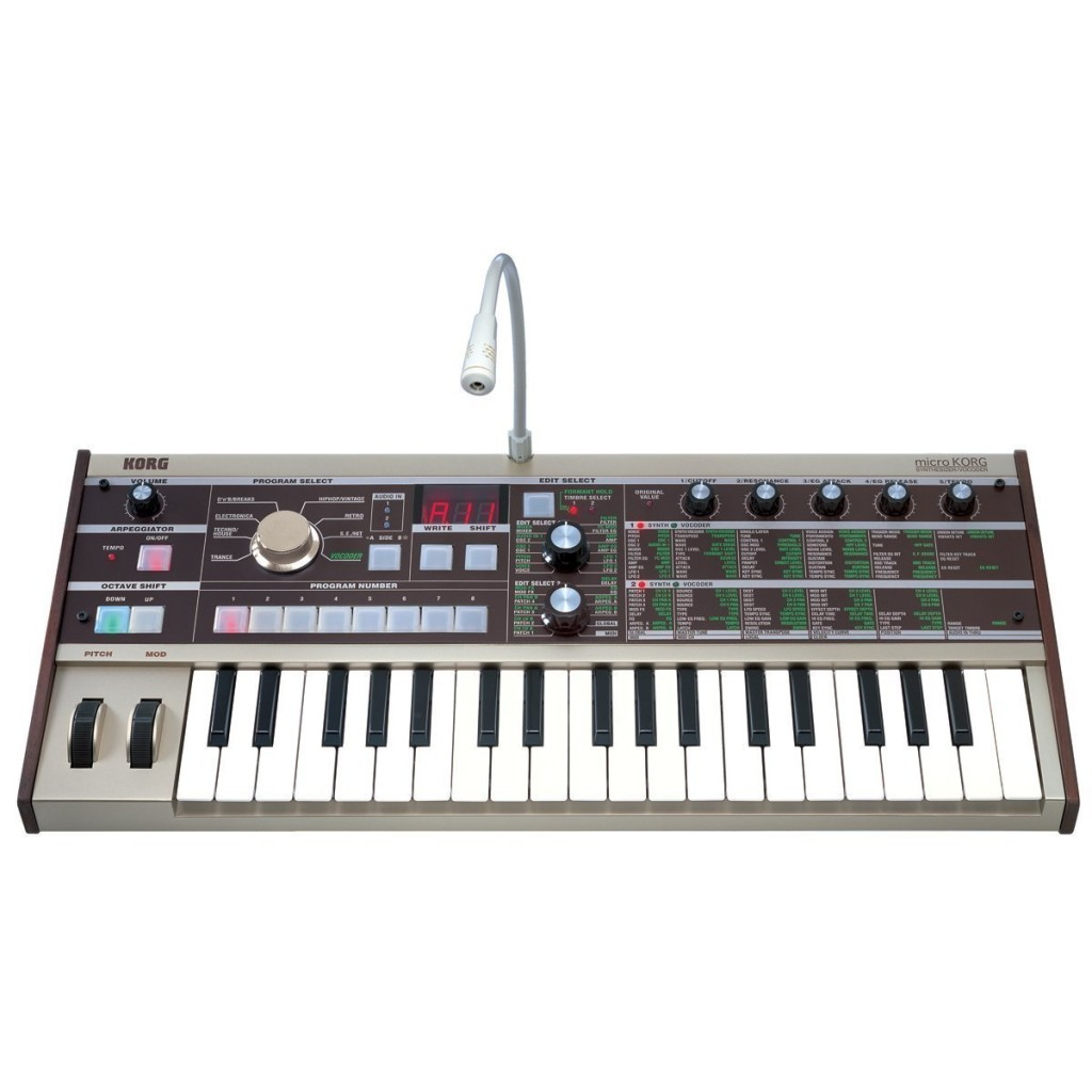 The Best Midi Controller – Korg microKorg 37-Key Analog