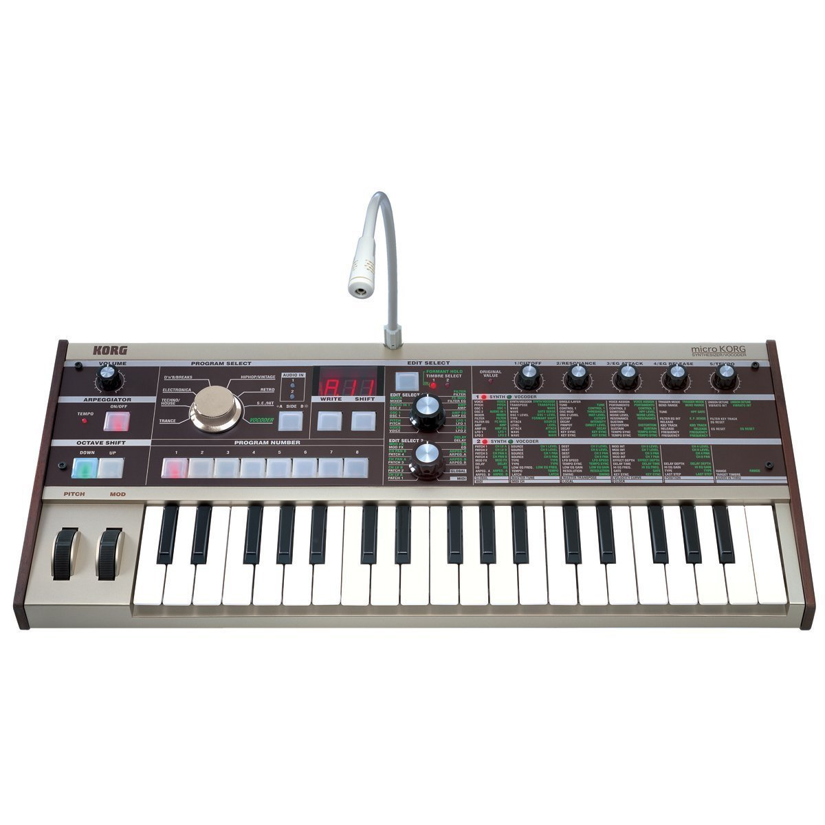 the best midi controller korg microkorg 37 key analog modeling synthesizer review. Black Bedroom Furniture Sets. Home Design Ideas