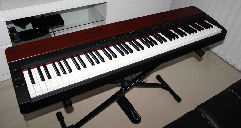 yamaha p155 digital piano review