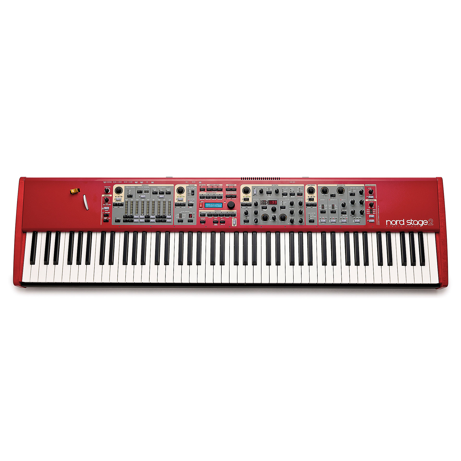 mmag.ru: Clavia Nord Stage 2 - video review - YouTube