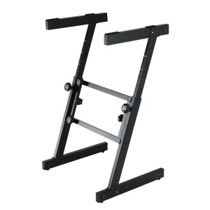 On Stage KS7350 Pro Heavy Duty Folding Z Keyboard Stand