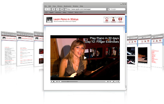 online piano video lessons