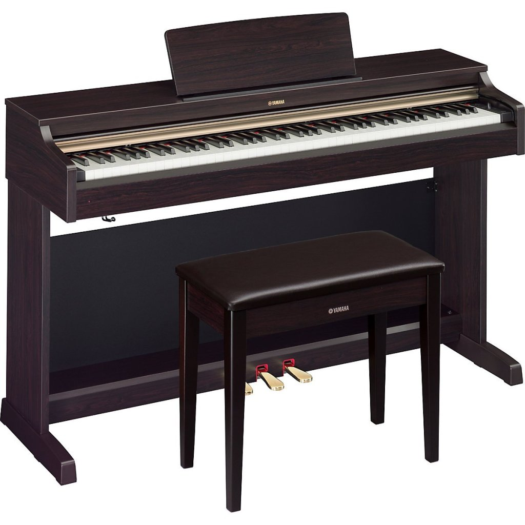 Yamaha arius ydp 162 digital piano review for Yamaha pianos nj