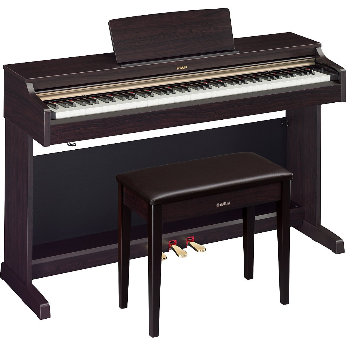 Yamaha arius ydp 162 digital piano review for Yamaha console piano prices