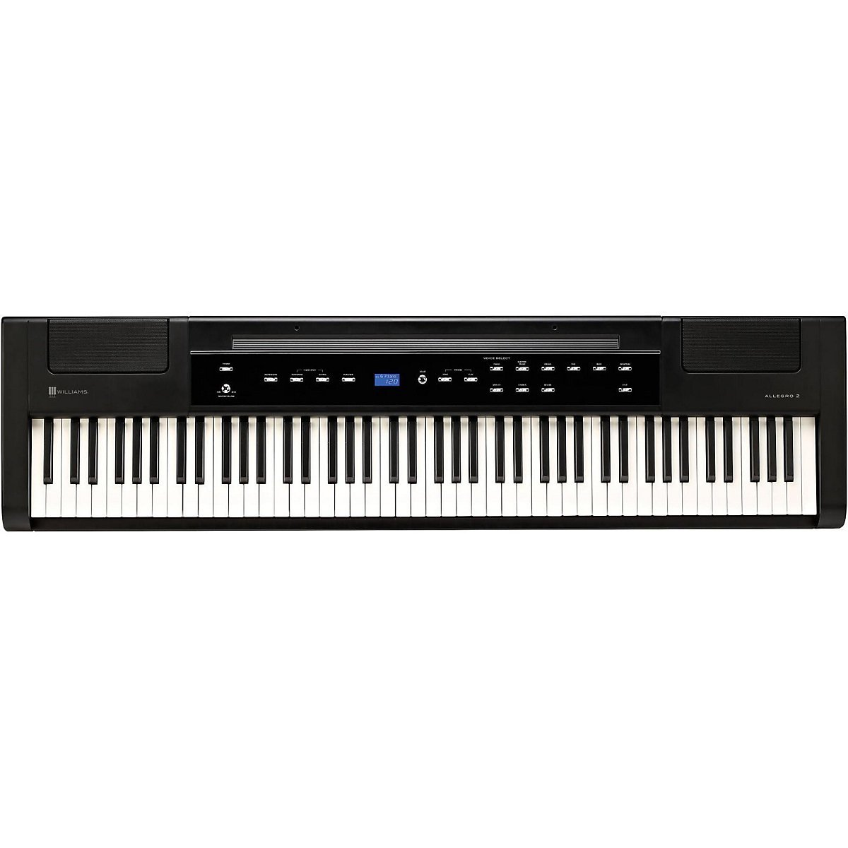 88 Key Piano >> Williams Allegro 2 Digital Piano Review - Best Digital Piano