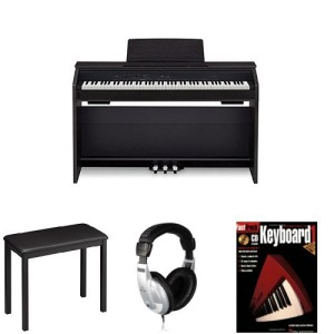 Casio PX860 BK Privia Digital Home Piano Bundle