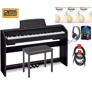 Casio Privia PX-760 88-Key Digital Piano Pro Bundle