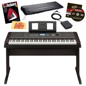 Yamaha DGX650 Digital Piano Bundle