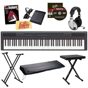 Yamaha P-115 88-Key Digital Piano Bundle