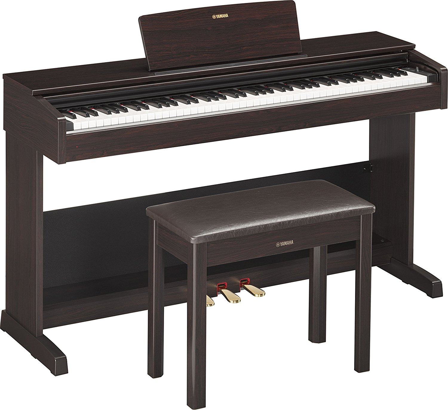Yamaha YDP103R Arius Series Digital Console Piano with Bench