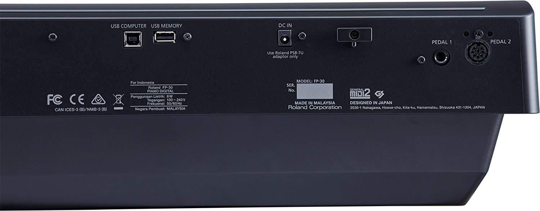 Roland FP-30 Rear Panel