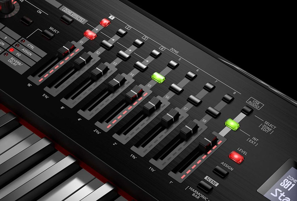 Roland RD-2000 Faders