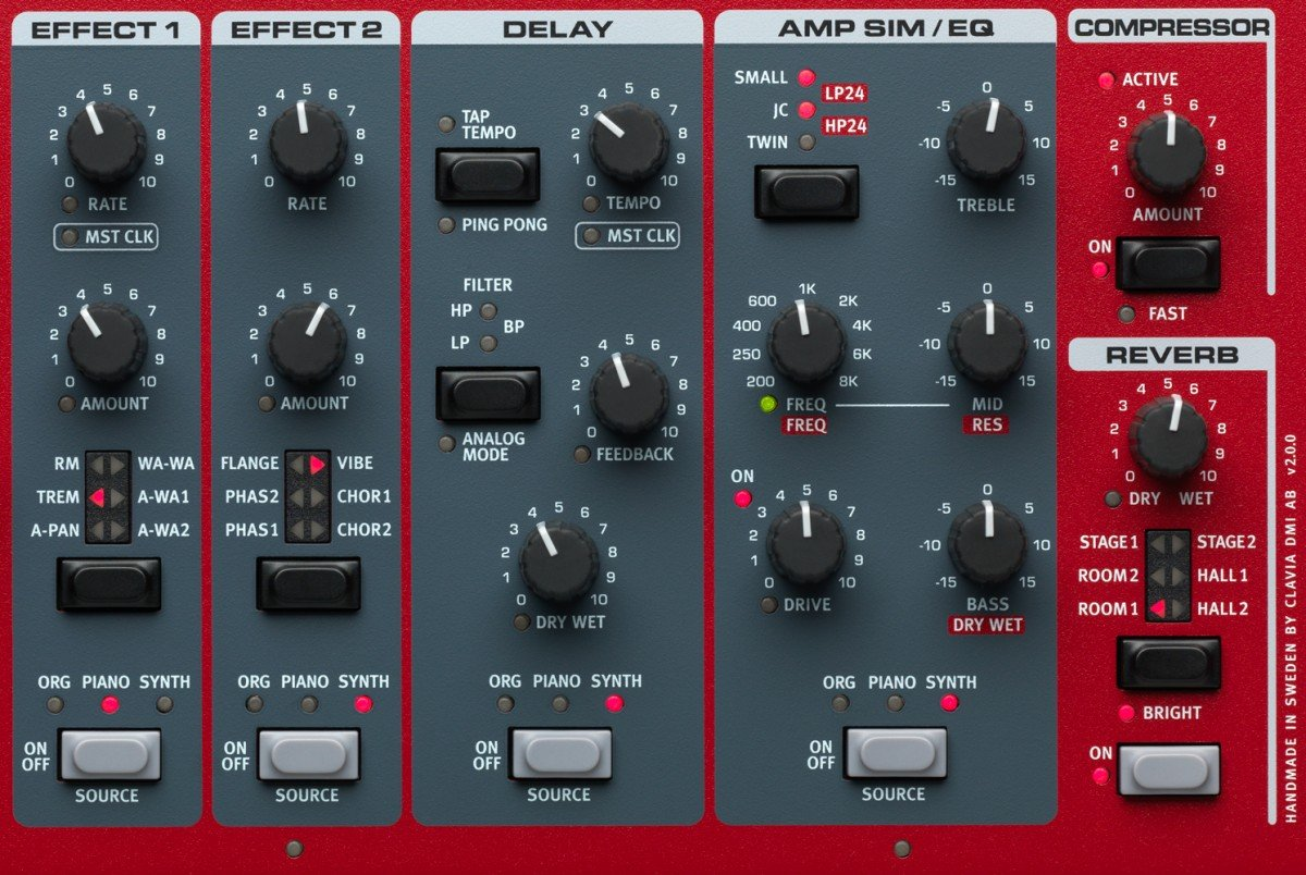 Nord Stage 3 Control Panel
