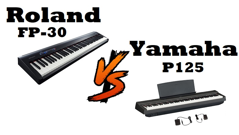 Roland Fp 30 Vs Yamaha P125 After Intensive Use