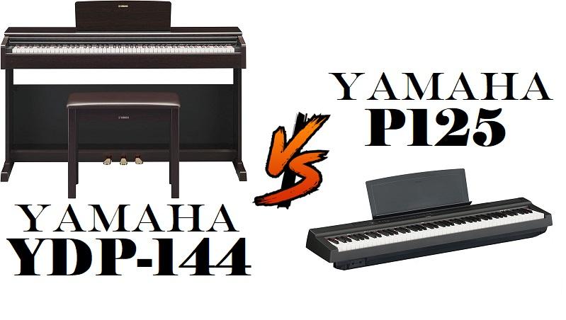 Yamaha YDP-144 vs Yamaha P125