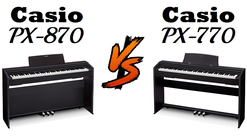 Casio PX-770 vs Casio PX-870