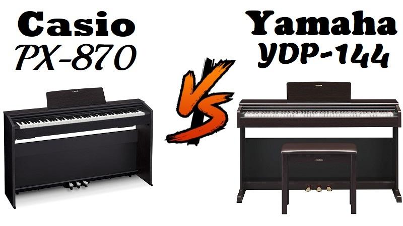 Casio PX-870 vs Yamaha YDP-144