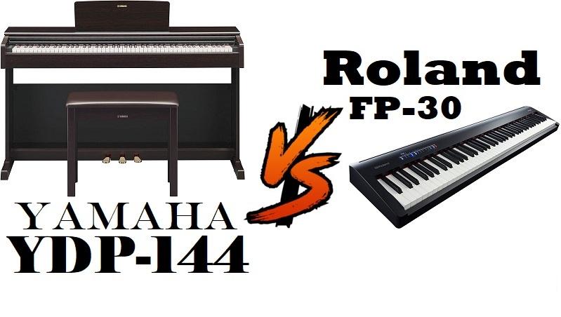 Roland FP-30 vs Yamaha YDP-144
